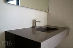 Unsere #Caesarstone #Waschtische stehen für ein edles Aussehen.  http://www.granit-natursteinhandel.de/waschtischplatten-passgenaue-waschtischplatten