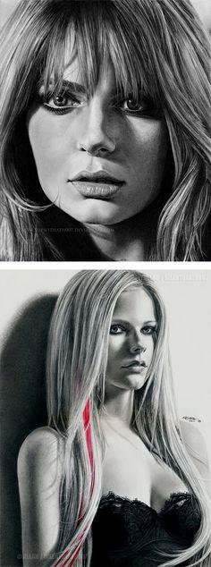 Realistic Pencil Art by Allan Hotzel