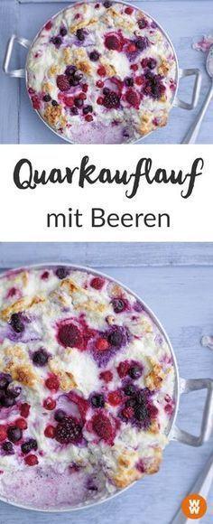 Beerenauflauf I Süßer Auflauf I Auflaufrezept I WW Rezept IHauptgericht I Dessert I Frühstück I Weight Watchers