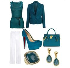 Cute teal outfit