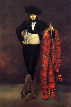 Young Man in the Costume of a Majo by Edouard Manet