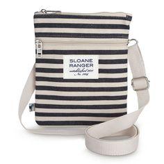 Sloane Ranger Denim Stripe Crossbody Bag at The Paper Store