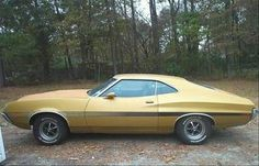1972 Gran Torino Sport-My very first car! Same color, same detailing! Car Ford, Ford Gt, Rat Rods, Grand Torino, Ford Lincoln Mercury, Ford Torino, Ford Classic Cars, Ford Motor Company, American Muscle Cars