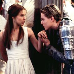 Romeo & Juliet: Who could forget the white dress Claire Danes wore — complete with angel wings — upon meeting her star-crossed lover Leonardo DiCaprio in the updated version of Romeo & Juliet?