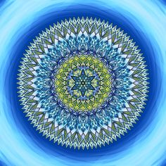 Mandala Jsi krásná, potřebná a milovaná bytost Feng Shui, Relax, Design, Mandalas