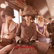 Louis Vuitton' fall campaign, see more: http://www.styleite.com/media/louis-vuitton-fall-2012-campaign/#0