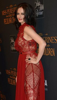 Eva Green born 6 July, 1980 (age in Paris, France. She is famous French actress and model best known as Eva Green. Famous French Actresses, Actress Eva Green, Green Pictures, Peculiar Children, Bond Girls, Actrices Hollywood, Beautiful Celebrities, Sensual, Lady In Red