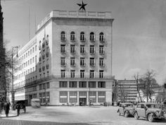 Deák Ferenc Square, with the building of Budapest Police Headquarters (today: Hotel Meridien), Old Pictures, Old Photos, Vintage Photos, Exhibition Display, Police Station, Metroid, Historical Photos, Hungary, Budapest