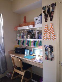 University Of Tennessee Volunteer Hall Student Room. UTK Housing