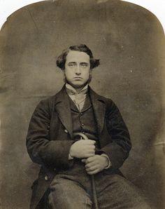 W.M. Moor, Solemn Man, 1855
