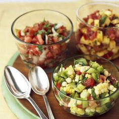 Salsa Recipes! I made my own salsa the other day and it was really good! I will never buy store bought again! Super easy too!
