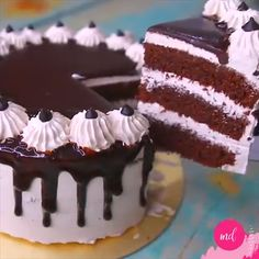 Chocolate Mocha Cake By: Yummy Food & Fashion Easy Cake Recipes, Baking Recipes, Sweet Recipes, Snack Recipes, Keto Snacks, Chocolate Mocha Cake, Chocolate Desserts, Cappuccino Torte, Delicious Desserts