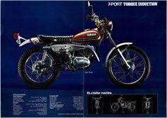 Yamaha Brochure RT3 1973 Sales Catalog Catalogue Repro | eBay