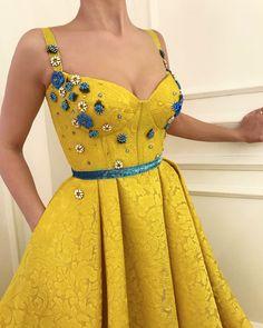 Vivid Lemon TMD Gown