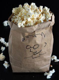 Alton Brown's Microwave Popcorn Recipe