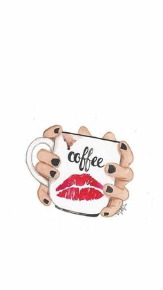 coffee wallpaper I wonder if coffee loves me like I love coffee Happy Coffee, I Love Coffee, My Coffee, Coffee Mugs, Monday Coffee, White Coffee, Coffee Beans, Morning Coffee, Coffee Cafe
