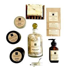 Lavender Spa Gift Set on AHAlife