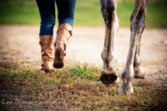 Girl owners boots and mare's hoofs.   Annapolis Kent Island Maryland High School Senior Portrait Photography with Horse Pet by photographer Leo Dj