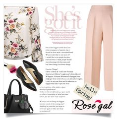 """Rosegal 6"" by maidaa12 ❤ liked on Polyvore featuring Fendi"