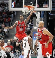 jimmy butler dunk - his face is like yeah i did it, deal with it and i can do this all night