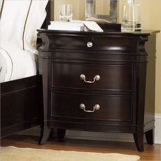 Decorating wood nightstand unique designs