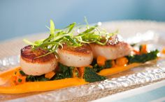 Pan Seared Scallops  The Resort at Pelican Hill
