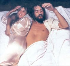 Stevie and Mick Fleetwood.