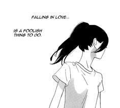 Say Something would be a perfect song to describe this manga: Hirunaka no Ryuusei Sad Anime Girl, Manga Girl, Anime Art Girl, Sad Anime Quotes, Manga Quotes, Dark Anime, Manga Love, Anime Love, Aesthetic Art