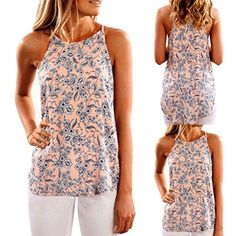 d79bd25dbc93d Vest Women 2017 summer tops camisole Summer Floral Vest Sleeveless Shirt  Blouse Casual Tank Tops T-Shirt cropped renda