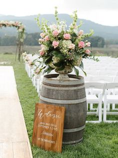 Featured photographer: Rachel May Photography; Wedding ceremony idea