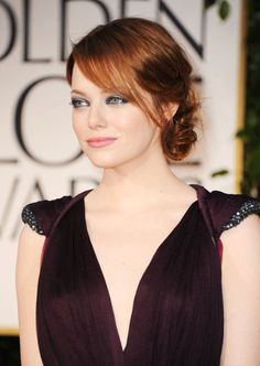 Emma Stone - she has the looks and the personality! Love her!
