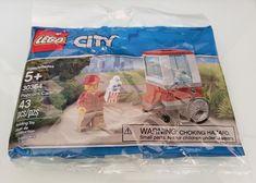 Popcorn Cart New sealed polybag 2019 ** LEGO Set 30364 City