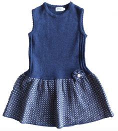 kjole nora blue