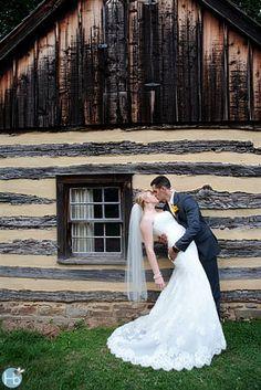 Modern V Neck Ruffled Wedding Gown