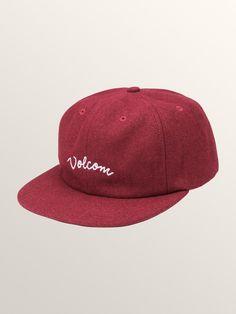 Volcom Wooly Hat - Black O S 5 Paines De Chapéu e13950978db