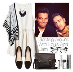 """""""Goofing around with Louis and Liam"""" by lovatic92 ❤ liked on Polyvore featuring Payne, LE3NO, Witchery, Wildfox, Bobbi Brown Cosmetics, women's clothing, women, female, woman and misses"""