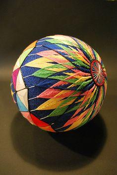 How to make temari ball???İt's here: http://www.japanesetemari.com/freepatterns/make-a-temari-ball/directions-make-temari.html