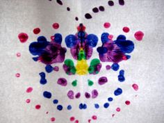 painting with cotton buds butterfly | Flickr - Photo Sharing!