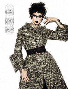 The FashionBirdcage: A Classic Rebel Vogue Japan November 2013
