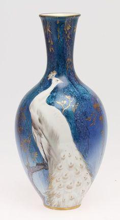Porcelain vase, H & Co Selb Bavaria, Germany.