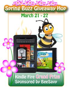 Etsy Hidden Treasure Event {approximately 100 dollar value & Kindle Fire too } #SpringBuzzHop