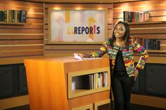 Anchor of EL Reports, Arit Okpo. EL Reports is a Pan African news program that focuses on the positive news coming out of Africa. Tune in to EbonyLife TV.