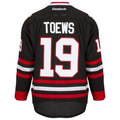 Chicago Blackhawks Mens Black Alternate Jonathan Toews Premier Jersey by  Reebok  Chicago  blackhawks   5ddaaf9e3