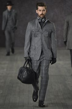 The suit from tweed stylish mens fashion, mens fashion week, fashion wear, Stylish Mens Fashion, Mens Fashion Week, Fashion Moda, Fashion Wear, Urban Fashion, Timeless Fashion, High Fashion, Joseph Abboud, Mens Style Guide