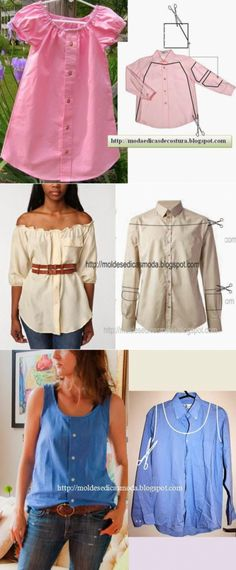 La búsqueda sobre el Postlimo: los rehacimientos de las cosas viejas ropa reciclada blusas Шитьё и крой Cut Up Shirts, Tie Dye Shirts, T Shirt Yarn, T Shirt Diy, Band Shirts, Diy Clothing, Sewing Clothes, Male Clothing, Clothing Logo