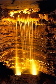 Marvel Cave is a National Natural Landmark located just west of Branson, Missouri, USA
