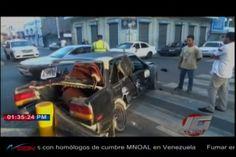 Un Accidente En La Calle San Luis De Santiago Por semaforo Defectuoso
