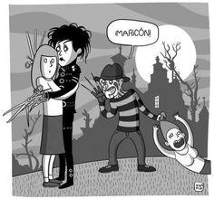 XD Mexican Memes, Edward Scissorhands, Humor Grafico, Zebras, Laugh Out Loud, True Stories, Fairy Tales, Lol, Fictional Characters
