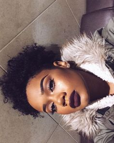 @Chanelallvre All Things Beauty, Beauty Make Up, Hair Beauty, Black Girl Makeup, Girls Makeup, Flawless Makeup, Gorgeous Makeup, Face Cleaning Routine, Brown Skin Makeup