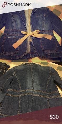 Dark chambray jacket Lovely with any outfit Jackets & Coats Jean Jackets
